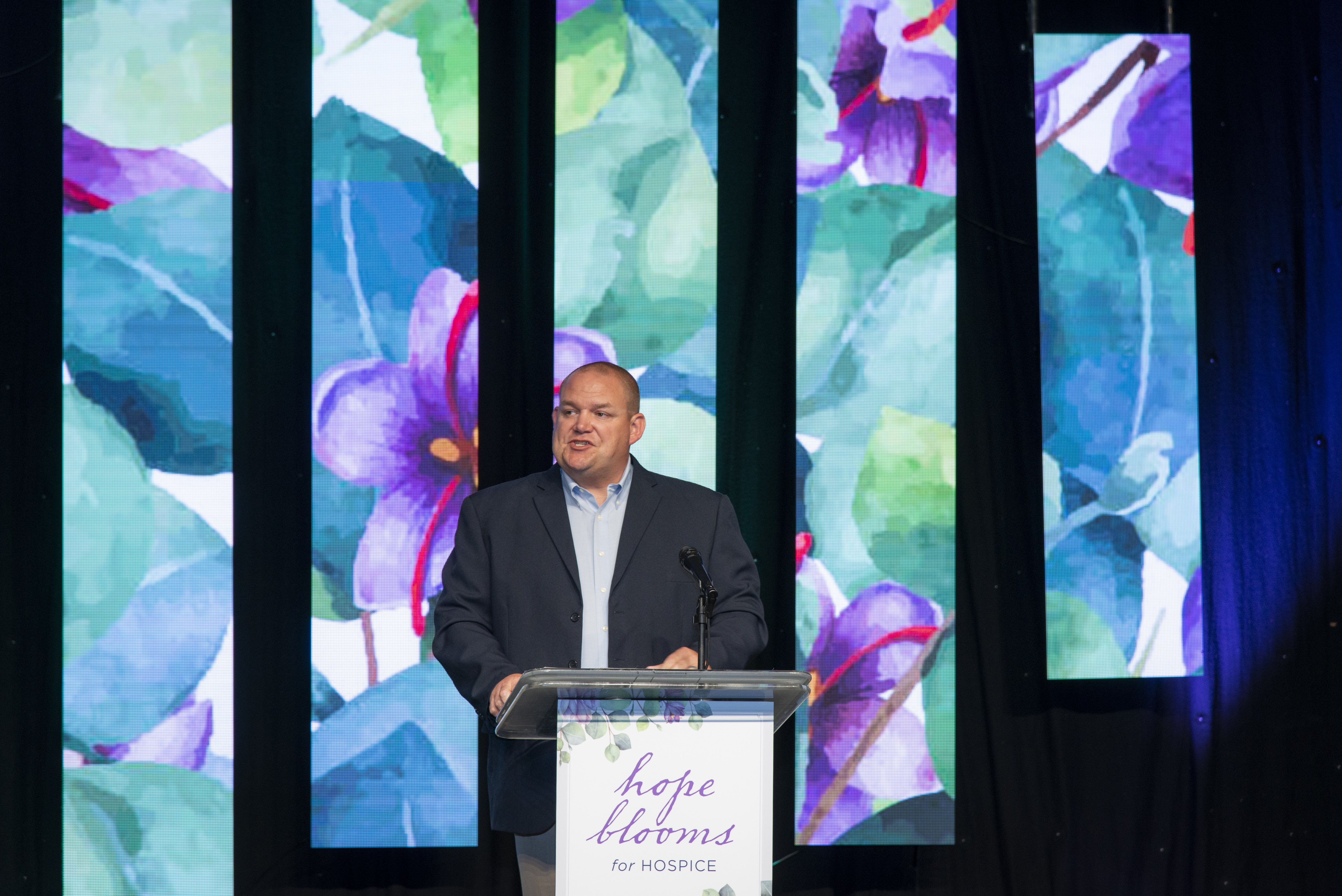 Photograph taken at Spartanburg Regional Hospice and Foundation 2019 Hope Blooms luncheon at Spartanburg Marriott by photographer Stephen Stinson.